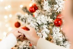 Family, x-mas, winter holidays Royalty Free Stock Photos