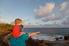 Family in Mauritius Stock Photography