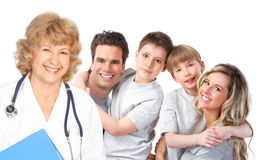 Family medical doctor Stock Images