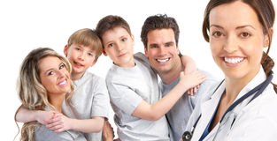 Free Family Medical Doctor Royalty Free Stock Photos - 14070908