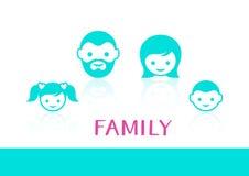 Family members Royalty Free Stock Image