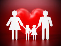 Family members holding hands Royalty Free Stock Photo