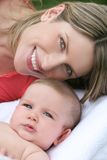 Family: Mother and Baby Boy Stock Photos
