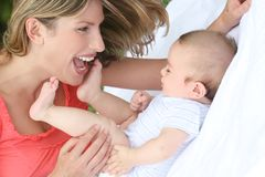 Family: Mother and Child Stock Photos