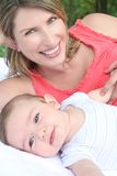 Family: Mother and Child Royalty Free Stock Images