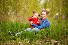 Family. Mother and daughter Royalty Free Stock Photography