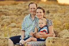 A family Royalty Free Stock Image