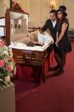 Family mourning Royalty Free Stock Image