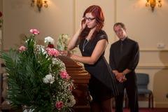 Family mourning Royalty Free Stock Photos