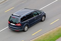 Family MPV car Stock Photography