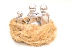 Family nest.Metaphor. Royalty Free Stock Photo