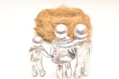 Family nest.Metaphor. Stock Photography