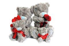 Family Of Teddy Bears Stock Image