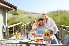 Free Family On Vacation Eating Outdoors Stock Photo - 22777660