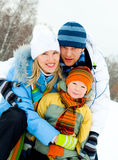 Family outdoor Stock Photos