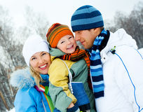 Family outdoor Stock Image