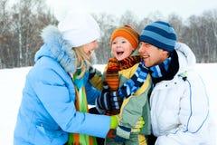 Family outdoor Stock Photos