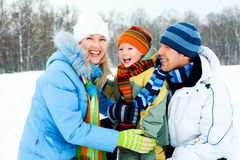 Family outdoor Stock Images