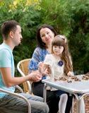Family outdoor Royalty Free Stock Photos