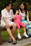 Family Outdoors Stock Photos