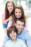 Family outdoors Royalty Free Stock Photography
