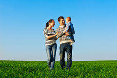 Family at outdoors Stock Photography