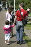 Family outing. Parents and children on a family outing Royalty Free Stock Photo