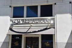 Palm Restaurant, Nashville, TN stock image