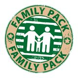 Family pack Royalty Free Stock Photos
