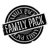 Family Pack rubber stamp Royalty Free Stock Photo