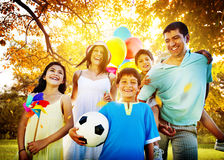 Family Parents Children Togetherness Holiday Concept Royalty Free Stock Photo