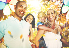 Family Parents Children Togetherness Holiday Concept Royalty Free Stock Image