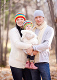 Family in the park Royalty Free Stock Image