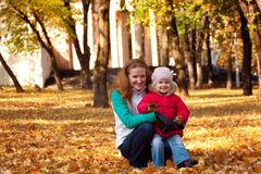 Family at the park Royalty Free Stock Photography