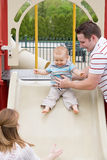 Family at the Park Stock Photography