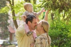 Family in park Royalty Free Stock Photos