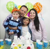 Family party birthday& x27;s day. Stock Photography