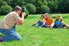 Family photo Stock Photography