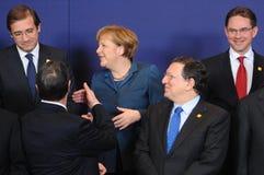 Family photo - European Council royalty free stock photo