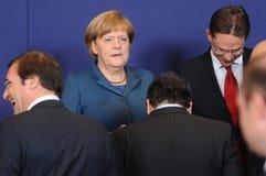 Family photo - European Council stock images