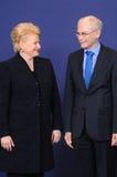 Family photo - European Council stock photos