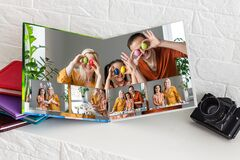 Free Family Photobook About Easter. Easter Card With Love. Stock Image - 215007951