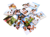 Family photos Royalty Free Stock Photography