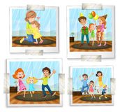 Family photos Stock Photo