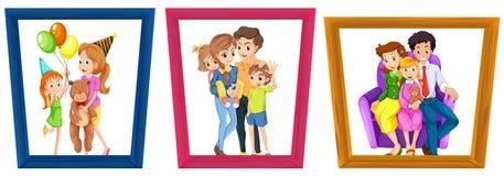 Family photos Royalty Free Stock Photos
