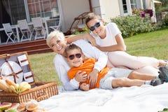 Family picnic. Stock Photography