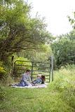 Family picnic Royalty Free Stock Photo