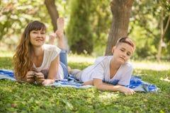 Family picnic Royalty Free Stock Image