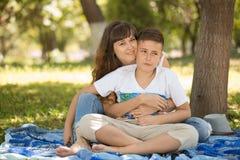 Family picnic Royalty Free Stock Photos