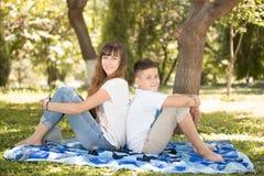 Family picnic Stock Image